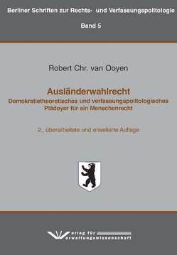 Ausländerwahlrecht von van Ooyen,  Robert Chr.