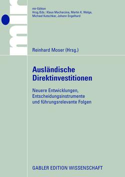Ausländische Direktinvestitionen: von Moser,  Reinhard