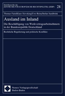 Ausland im Inland von Faißt,  Thomas, Reim,  Uwe, Sandbrink,  Stefan, Sieveking,  Klaus