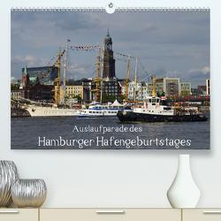 Auslaufparade des Hamburger Hafengeburtstages (Premium, hochwertiger DIN A2 Wandkalender 2020, Kunstdruck in Hochglanz) von Lindemann,  Uwe