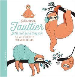 Ausmalbuch Faultier