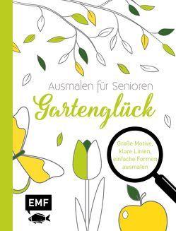 Ausmalen für Senioren – Gartenglück
