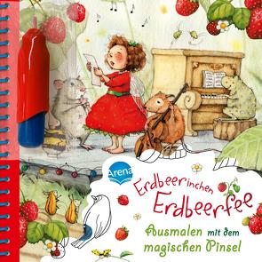 Ausmalen mit dem magischen Pinsel. Erdbeerinchen Erdbeerfee von Dahle,  Stefanie, Estner,  Alin, Homberg,  Myriam