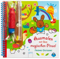 Ausmalen mit dem magischen Pinsel. Frohe Ostern! von Boehm,  Stefanie, Morey,  Marie