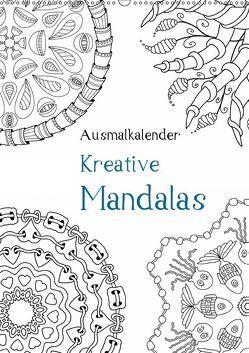 Ausmalkalender – Kreative Mandalas (Wandkalender 2019 DIN A2 hoch) von Langenkamp,  Heike