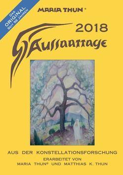 Aussaattage 2018 Maria Thun® A5 von Thun,  Matthias K
