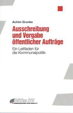 Ausschreibung und Vergabe öffentlicher Aufträge von Achim,  Grunke