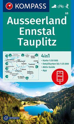 Ausseerland, Ennstal, Tauplitz von KOMPASS-Karten GmbH