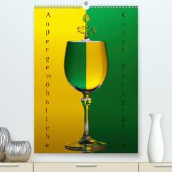 Außergewöhnliche Kunst – Wasser Tropfenfotografie (Premium, hochwertiger DIN A2 Wandkalender 2021, Kunstdruck in Hochglanz) von Nimmervoll,  Daniel