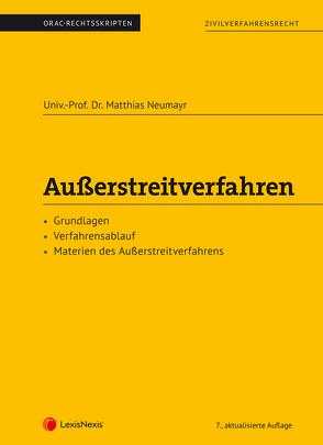 Außerstreitverfahren (Skriptum) von Neumayr,  Matthias