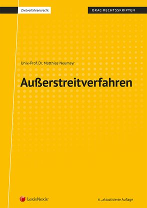 Außerstreitverfahren von Neumayr,  Matthias