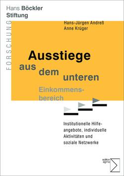 Ausstiege aus dem unteren Einkommensbereich von Andreß,  Hans-Jürgen, Krüger,  Anne