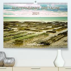 AUSTERNBÄNKE BRETAGNE 2021 Photos Marion Koell (Premium, hochwertiger DIN A2 Wandkalender 2021, Kunstdruck in Hochglanz) von KOELL,  MARION