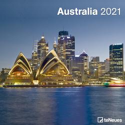 Australia 2021 – Wand-Kalender – Broschüren-Kalender – 30×30 – 30×60 geöffnet – Reise-Kalender