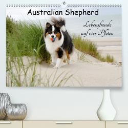 Australian Shepherd – Lebensfreude auf vier Pfoten (Premium, hochwertiger DIN A2 Wandkalender 2020, Kunstdruck in Hochglanz) von Nozulak,  Miriam