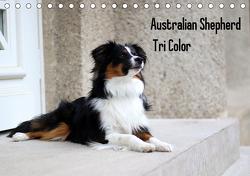 Australian Shepherd Tri Color (Tischkalender 2021 DIN A5 quer) von Youlia