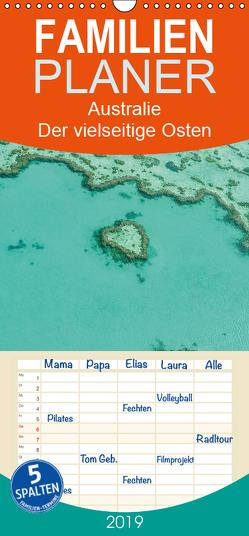 Australien – Der vielseitige Osten – Familienplaner hoch (Wandkalender 2019 , 21 cm x 45 cm, hoch) von Wasilewski,  Martin