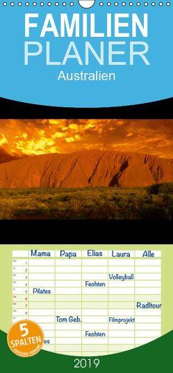 Australien – Familienplaner hoch (Wandkalender 2019 , 21 cm x 45 cm, hoch) von Mende,  Marcel
