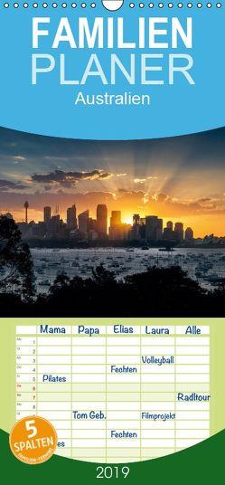 Australien – Familienplaner hoch (Wandkalender 2019 , 21 cm x 45 cm, hoch) von Gann (magann),  Markus