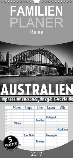 AUSTRALIEN Impressionen von Sydney bis Adelaide – Familienplaner hoch (Wandkalender 2019 , 21 cm x 45 cm, hoch) von Viola,  Melanie