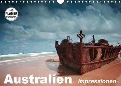 Australien. Impressionen (Wandkalender 2019 DIN A4 quer) von Stanzer,  Elisabeth