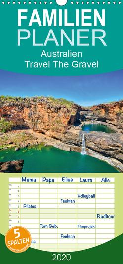 Australien – Travel The Gravel – Familienplaner hoch (Wandkalender 2020 , 21 cm x 45 cm, hoch) von Sandrock,  Martin