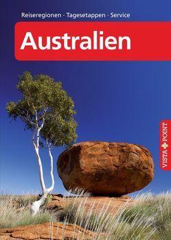 Australien – VISTA POINT Reiseführer A bis Z von Blisse,  Manuela, Lehmann,  Uwe