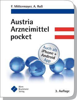Austria Arzneimittel pocket von Mittermayer,  Friedrich, Ruß,  Andreas