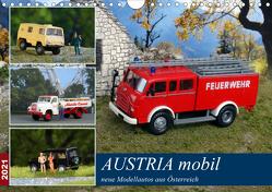Austria mobil (Wandkalender 2021 DIN A4 quer) von Huschka,  Klaus-Peter