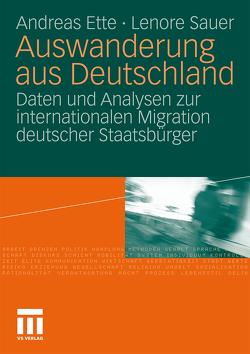 Auswanderung aus Deutschland von Ette,  Andreas, Sauer,  Lenore