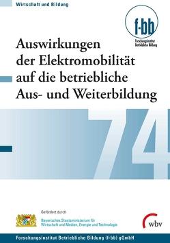 Auswirkungen der Elektromobilität auf die betriebliche Aus- und Weiterbildung von Goth,  Günther G., Kretschmer,  Susanne, Pfeiffer,  Iris