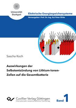 Auswirkungen der Selbstentzündung von Lithium-Ionen-Zellen auf die Gesamtbatterie von Koch,  Sascha