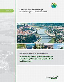 Auswirkungen des globalen Wandels auf Wasser, Umwelt und Gesellschaft im Elbegebiet von Becker,  Alfred, Gräfe,  Peggy, Wechsung,  Frank