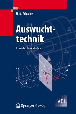 Auswuchttechnik von Schneider,  Hatto