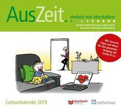 AusZeit… einfach mal abschalten! Cartoonkalender 2019 von Lembke,  Gerald, Lüdke,  Christian, Pfohlmann,  Christiane