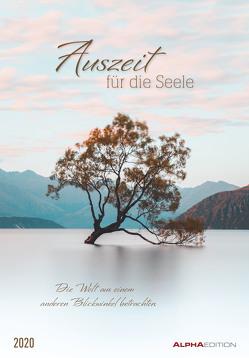 Auszeit für die Seele 2020 – Bildkalender (24 x 34) – Wandkalender – Landschaftskalender – Meditationskalender – Natur von ALPHA EDITION