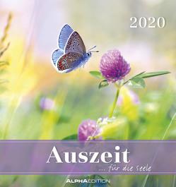 Auszeit für die Seele 2020 – Postkartenkalender (16 x 17) – zum aufstellen oder aufhängen – Geschenkidee – Gadget von ALPHA EDITION
