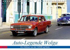 Auto-Legende Wolga – Ein Oldtimer aus der UdSSR auf Kuba (Wandkalender 2019 DIN A4 quer)