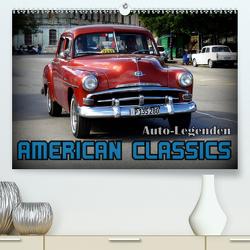 Auto-Legenden: American Classics (Premium, hochwertiger DIN A2 Wandkalender 2021, Kunstdruck in Hochglanz) von von Loewis of Menar,  Henning