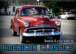 Auto-Legenden: American Classics (Wandkalender 2019 DIN A2 quer) von von Loewis of Menar,  Henning