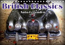 Auto-Legenden: British Classics (Tischkalender 2021 DIN A5 quer) von von Loewis of Menar,  Henning