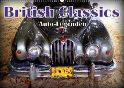 Auto-Legenden: British Classics (Wandkalender 2021 DIN A2 quer) von von Loewis of Menar,  Henning
