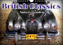 Auto-Legenden: British Classics (Wandkalender 2021 DIN A4 quer) von von Loewis of Menar,  Henning