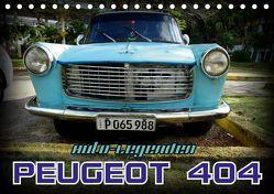 Auto-Legenden – PEUGEOT 404 (Tischkalender 2019 DIN A5 quer) von von Loewis of Menar,  Henning