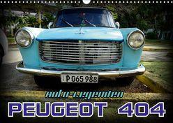 Auto-Legenden – PEUGEOT 404 (Wandkalender 2019 DIN A3 quer) von von Loewis of Menar,  Henning