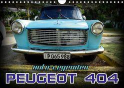 Auto-Legenden – PEUGEOT 404 (Wandkalender 2019 DIN A4 quer) von von Loewis of Menar,  Henning
