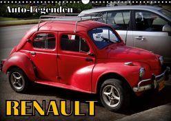Auto-Legenden: RENAULT (Wandkalender 2019 DIN A3 quer) von von Loewis of Menar,  Henning