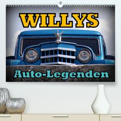Auto-Legenden: WILLYS (Premium, hochwertiger DIN A2 Wandkalender 2021, Kunstdruck in Hochglanz) von von Loewis of Menar,  Henning