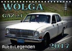 Auto-Legende Wolga – Ein Oldtimer aus der UdSSR auf Kuba (Tischkalender 2018 DIN A5 quer) von von Loewis of Menar,  Henning