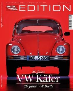 auto motor und sport Edition – 80 Jahre VW Käfer